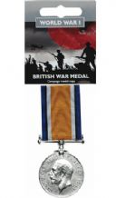 British War Medal (Full Size Replica)